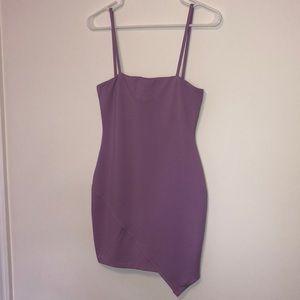 Purple by the way bodycon dress